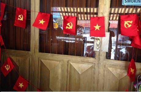 cờ dây đảng - tổ quốc