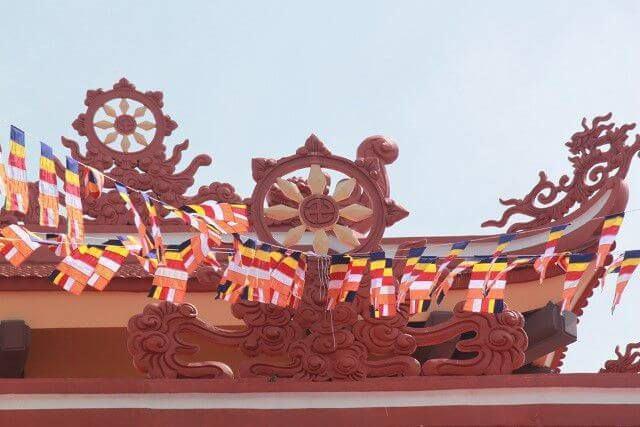 Cờ Dây Phật Giáo