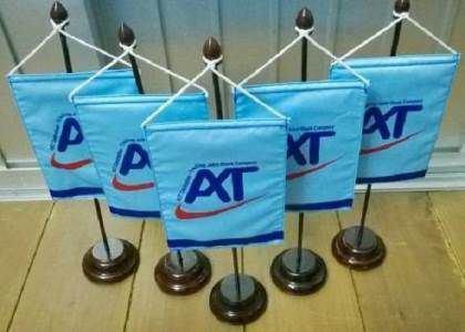 cờ để bàn logo công ty