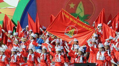 cờ đội thanh niên tiền phong
